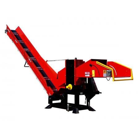 Holzhackmaschine WOM Model R-150 + Taśmociąg 3m