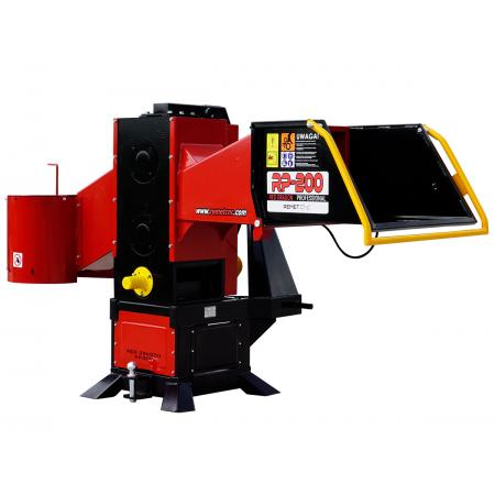 Holzhackmaschine WOM Model RP-200