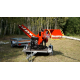 Model RPS-120 + TURNTABLE + BELT CONVEYOR + TRAILER