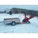 Дисковый измельчитель RTE-630 + Podwozie do transportu ręcznego