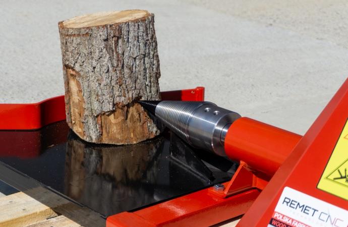 łuparki do drewna remet cnc